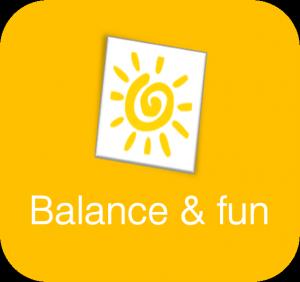Balance and fun - company values